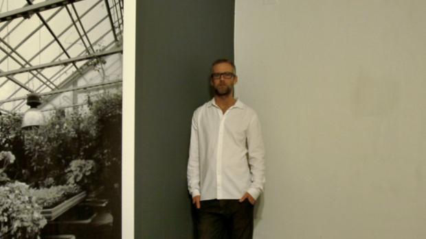 Entrevista con Denes Farkas en la galeria alarcón Criado