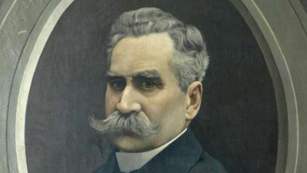 Retrato del cronista y político Alejandro Guichot