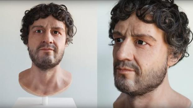 El rostro de Adriano