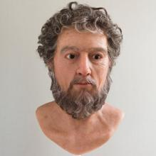 Rostro de Marco Aurelio