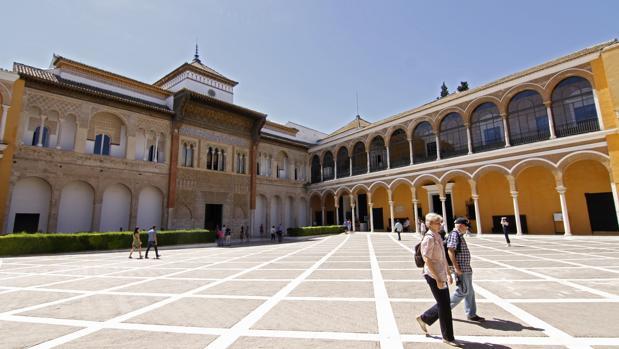 Patio de la Montería del Real Alcázar