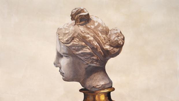 Detalle de «Afrodita en procesión», obra ganadora del Premio Focus 2017