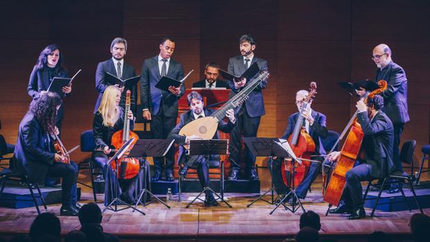 La Accademia del Piacere durante el concierto que ofreció en el Espacio Turina