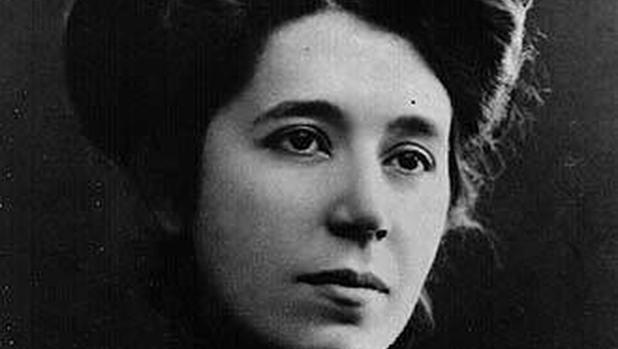 Retrato de María Lejárraga, escritora y feminista española