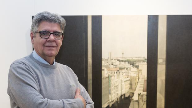El pintor Carlos Morago