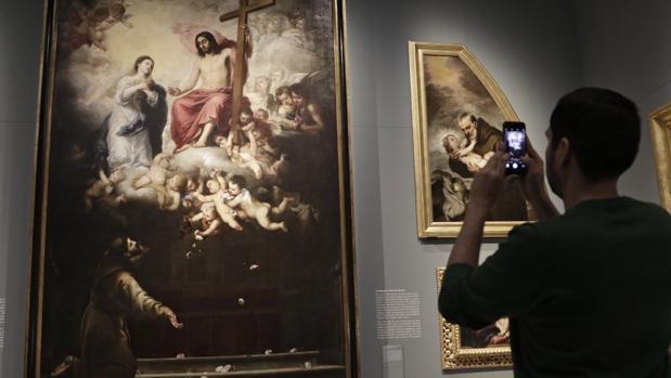 «Murillo y los Capuchinos de Sevilla» puede verse estos días en el Bellas Artes