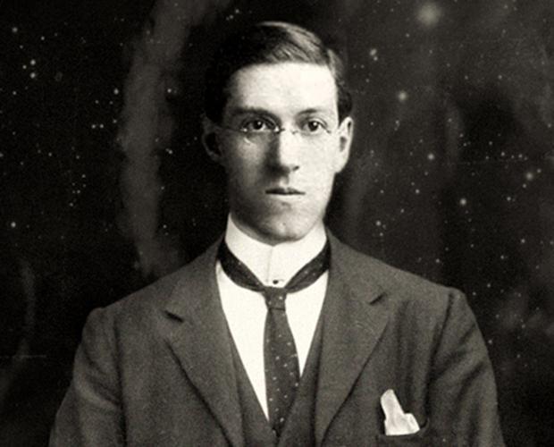 Lovecraft, en una imagen de época