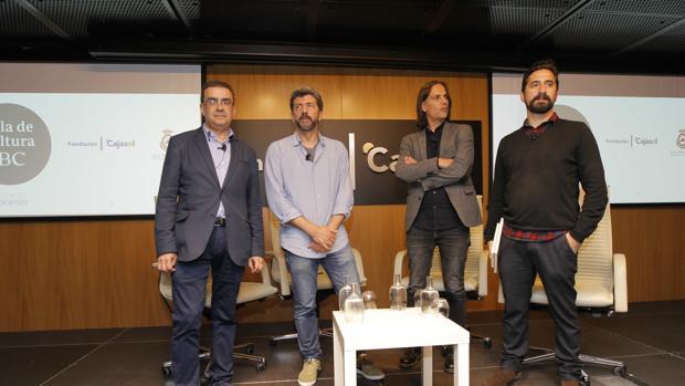 Francisco Robles dirigió el acto en la Fundación Cajasol