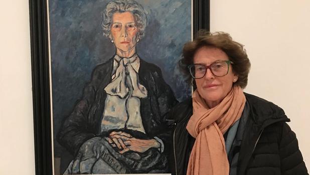 La pintora Fernanda Osborne