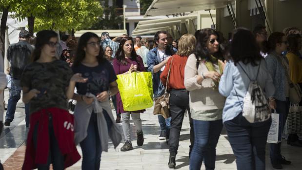 La afluencia de público a la Plaza Nueva ha sido constante en esta edición