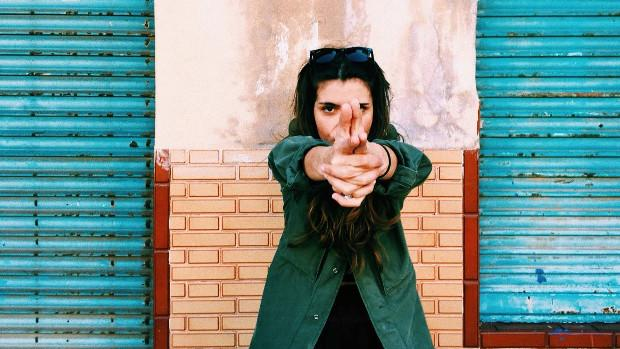La artista gaditana Carmen Boza