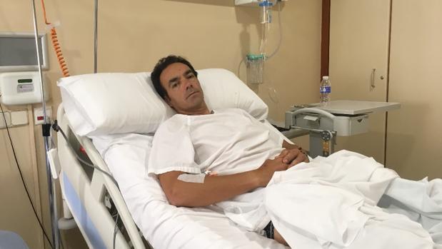 Manuel Jesús «El Cid» tras el grave percance de ayer