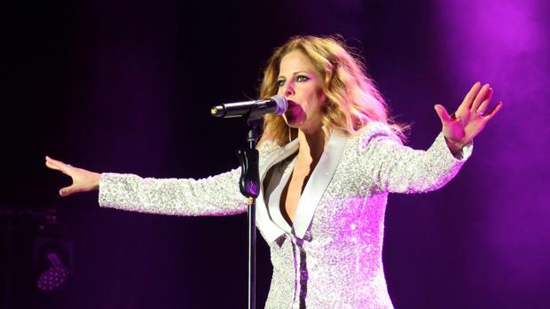 Pastora Soler, en su concierto de regreso a Sevilla