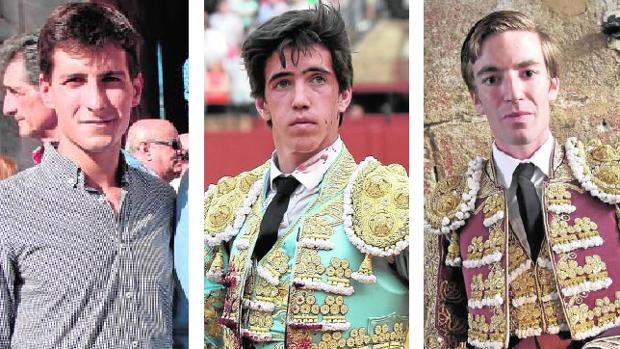García Navarrete, Carlos Ochoa y Daniel de la Fuente