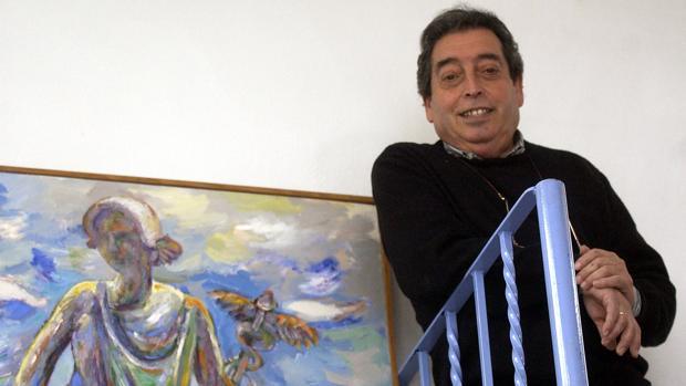 El pintor Paco Cuadrado