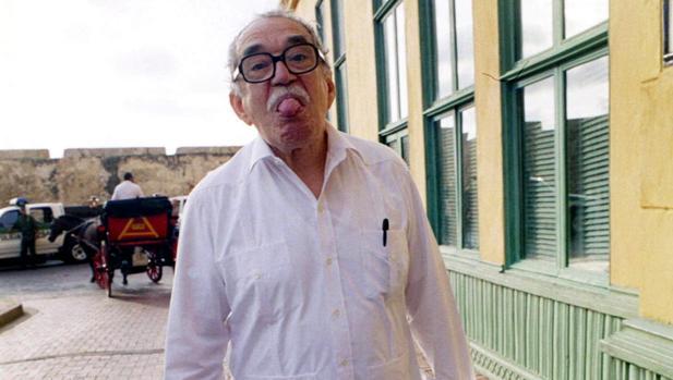 Gabriel García Márquez, en Cartagena de Indias (2204)