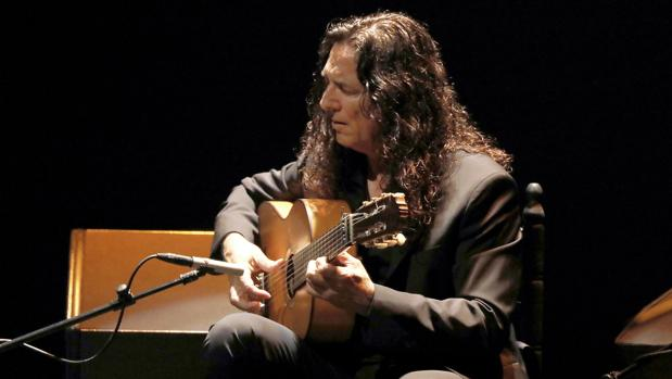El gran maestro de la guitarra flamenca Tomatito, en el Teatro de la Maestranza