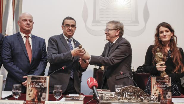 Francisco Cañadas, Francisco Robles, Alberto Máximo Pérez Calero y Alba Ballesta