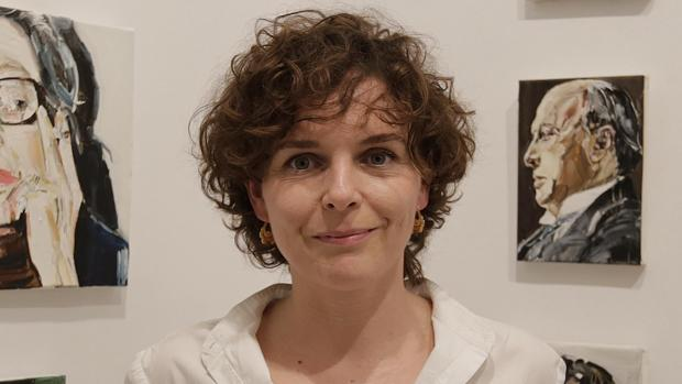 La artista Silvia Cosío
