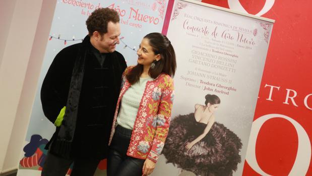 John Axelrod y Teodora Gheorghiu protagonizan junto a la ROSS el «Concierto de año nuevo»