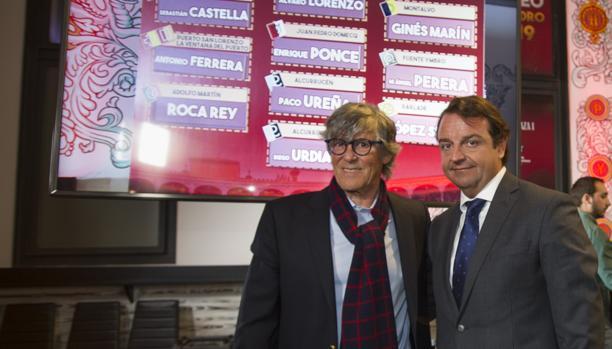 Simón Casas y Rafael García Garrido, empresarios de Las Ventas