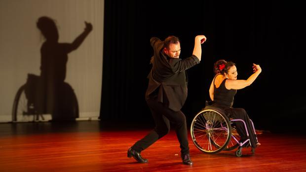 Espectáculo de flamenco inclusivo «Sueños reales de cuerpos posibles», de la compañía José Galán