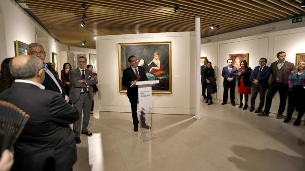 Inauguración de la exposición «Enrique Ochoa. La mirada de la mujer»