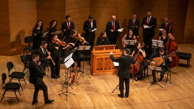 Concerto 1700 y los Afectos Diversos durante su actuación en el Espacio Turina