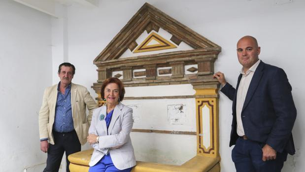 Enrique Piñero, Araceli Pineda y Enrique Bocanegra