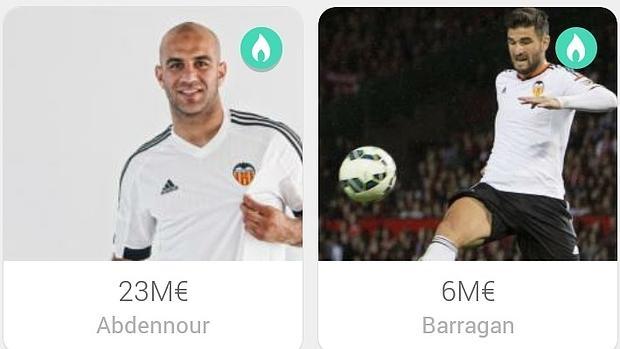 Se vende a los jugadores del valencia en una app de - Objetos de segunda mano ...