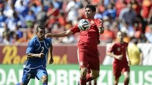 El futbolista representando a la selección