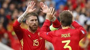Piqué y Ramos se empiezan a seguir en Twitter