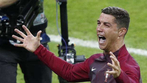 Eurocopa 2016:  Las lágrimas de Ronaldo se prolongaron tras el pitido final