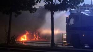 Unas 40 personas detenidas durante la final de la Eurocopa en París