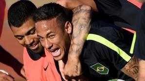 Un país colgado de Neymar