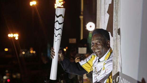 Río 2016:  Pelé no encenderá el pebetero