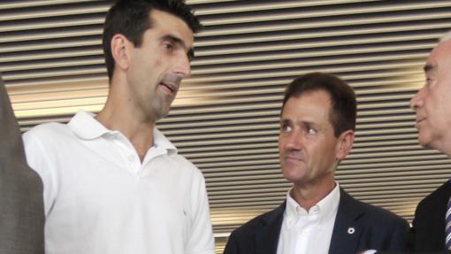 Fernando Climent, a la derecha.