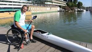 Javier Reja: «Debajo del asiento de la canoa llevo un pou del Betis»