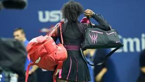 Serena Williams, tras caer en semifinales en Nueva York
