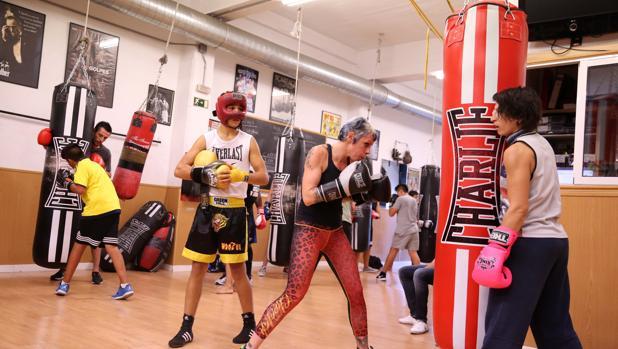 Boxeo vuelve el deporte milenario for Gimnasio dos hermanas