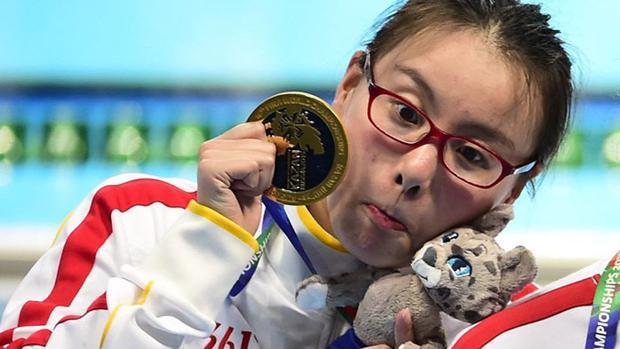 La nadadora china Fu Yuanhui admitió no haber nadado bien en Río 2016 tras bajarle el periodo