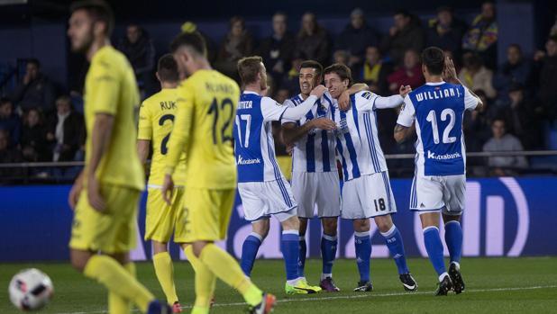Villarreal-Real Sociedad:  La Real sofoca los ánimos de remontada del Villarreal