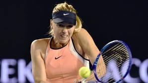 Maria Sharapova, durante un partido de la pasada temporada