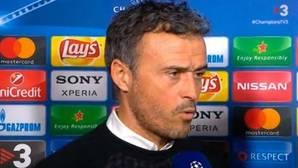 Luis Enrique paga con un periodista de TV3 su fracaso en París