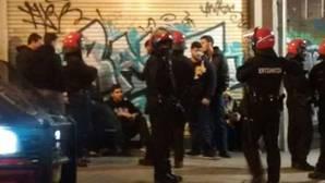 Un herido y varios identificados en una pelea entre aficionados del Athletic y del APOEL
