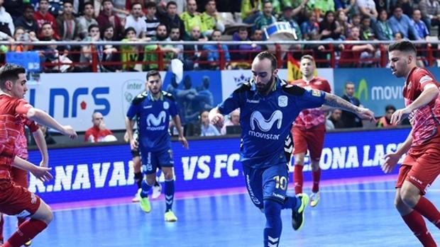 Ricardinho, estrella de Movistar Inter