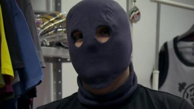 Uno de los hooligans entrevistados