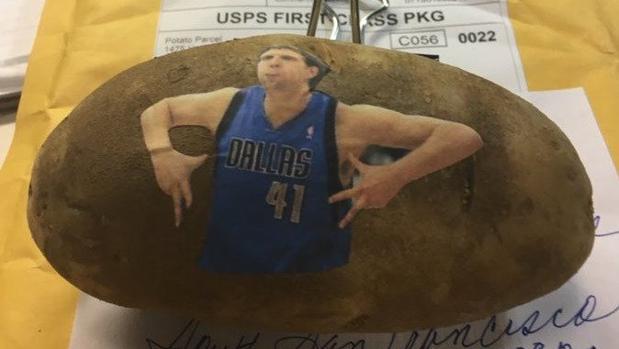 El misterio de las patatas enviadas a jugadores NBA