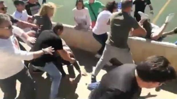 El Alaró y el Collerense lamentan la batalla campal ocurrida durante el partido entre sus equipos infantiles
