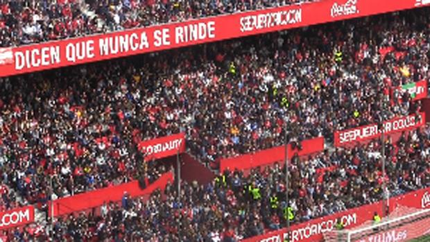 El Sevilla FC anuncia que recurrirá la sanción por el cierre del Gol Norte